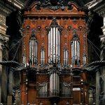 spanyol barokk orgona