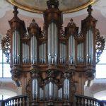 német barokk orgona