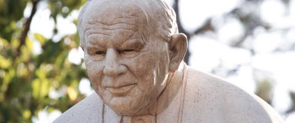 II. János Pál arca
